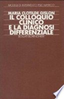 Il colloquio clinico e la diagnosi differenziale