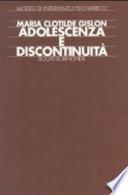 Adolescenza e discontinuità
