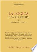 La logica e la sua storia da Aristotele a Russell