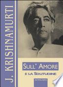 SULL'AMORE E LA SOLITUDINE