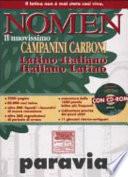 NOMEN. Il Nuovissimo Campanini Carboni - (Latino-Italiano / Italiano-Latino)