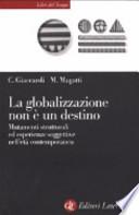 La globalizzazione non è un destino