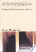 I luoghi della letteratura italiana