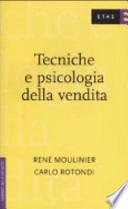 Tecniche e psicologia della vendita