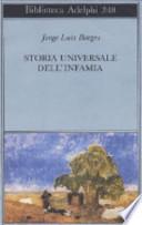 STORIA UNIVERSALE DELL'INFAMIA