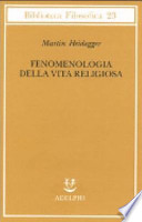 Fenomenologia della vita religiosa