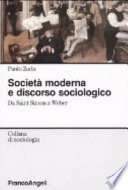 Società moderna e discorso sociologico