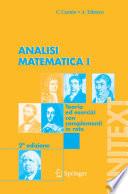 Analisi Matematica I Teoria ed esercizi con complementi in rete