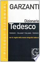 Dizionario Tedesco - Italiano