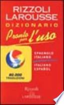 Pronto per l'uso español italiano/italiano español