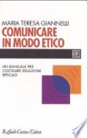 Comunicare in modo etico
