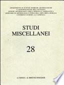Giornate Di Studio in Onore Di Achille Adriani. Roma, 26-27 Novembre 1984