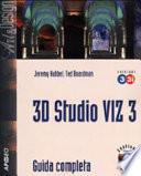 3D Studio Viz 3 e 3 i Guida Completa