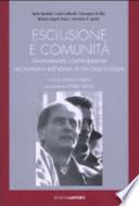 Esclusione e comunità decentramento e partecipazione nel pensiero e nell'azione di don Luigi Di Liegro