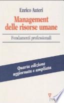 Management delle risorse umane - Fondamenti professionali