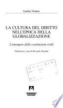 La cultura del diritto nell'epoca della globalizzazione