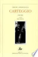 CARTEGGIO 1932-1961