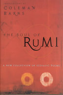 Book cover of The soul of Rumi : a new collection of ecstatic poems