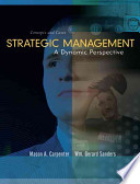 Strategic ManagementStrategic Management A Dynamic Perspective : Concepts and CasesA Dynamic Perspective : Concepts and Cases