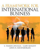 A framework for international business