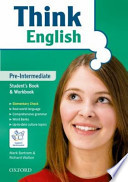 THINK English pre- intermediate student book+ entry book+ cd