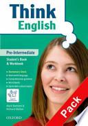 Think English Pre-Intermediate Pack completo di  2 cd