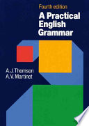 A PRATICAL ENGLISH GRAMMAR - fourth edition