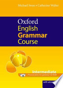OXFORD ENGLISH GRAMMAR COURSE INTERMEDIATE  E PRONUNCIATIONFOR GRAMMAR CD-ROM