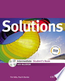 SOLUTIONS INTERMEDIATE STUDENT'S BOKK + WORKBOOK