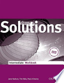 SOLUTIONS FOR SUCCESS IN ENGLISH - INTERMEDIATE WORKBOOK