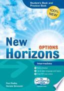 New Horizons Options. Intermediate. Student's book-Pratice book-My digital book