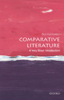Book cover of Comparative literature : a very short introduction