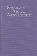 Book cover of Screenplays of the African American experience