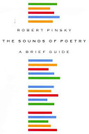 Book cover of The sounds of poetry : a brief guide