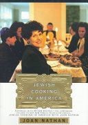 Book cover of Jewish cooking in America
