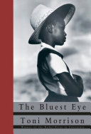 Book cover of The bluest eye