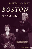 Book cover of Boston marriage