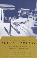 Book cover of The Anchor anthology of French poetry : from Nerval to Valéry, in English translation