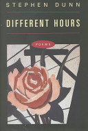 Book cover of Different hours : poems