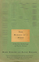 Book cover of The making of a poem : a Norton anthology of poetic forms