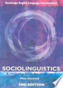 SOCIOLINGUISTICS A resource book for students  2nd edition