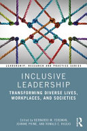 Book cover for Inclusive leadership : transforming diverse lives, workplaces, and societies