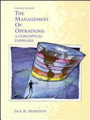 The management of operations