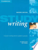Study Writing A Course in Written English for Academic Purposes