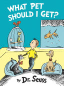 Book cover of What pet should I get?