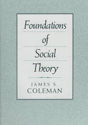 Foundations of social theory