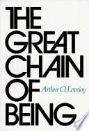 The great chain of being [La grande catena dell'essere]