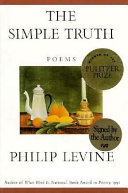 Book cover of The simple truth : poems