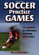 Book cover of Soccer practice games