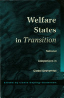 Welfare states in transition